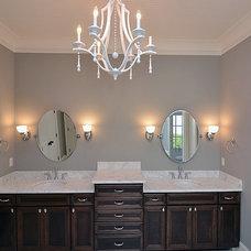 Traditional Bathroom by International Stone & Design