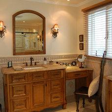 Traditional Bathroom by Ellyn Barr Designs