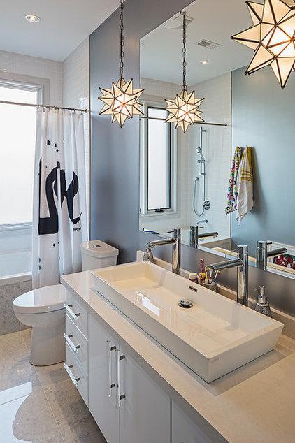 Contemporary Bathroom New House