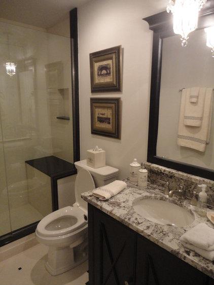 Traditional Bathroom by Cheryl D & Company
