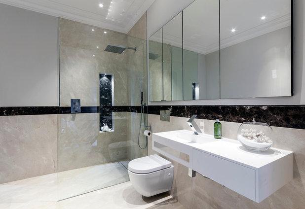 Contemporary Bathroom by BathroomsByDesign