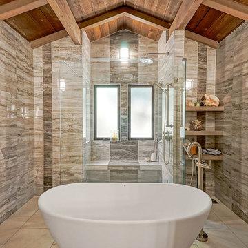 New Master Bathroom Spa