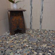 Asian Bathroom by Roloff Construction, Inc