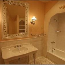 Traditional Bathroom by Gwyn Ronsick Design