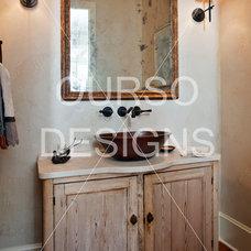 Contemporary Bathroom by Ourso Designs