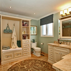 Traditional Bathroom by Leanne Howlett Design