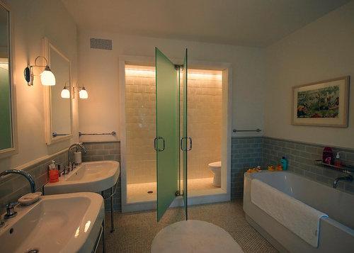 Merveilleux Is That An Opague Shower Door Or A Two Way Glass Door