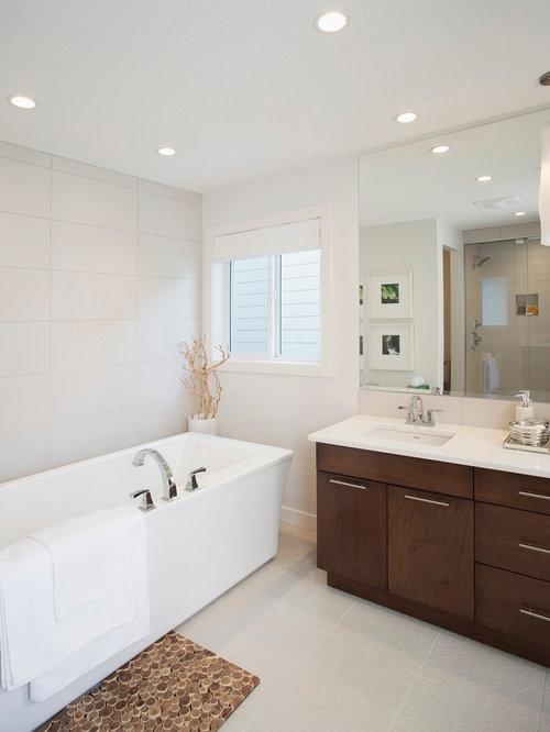 Off Center Sink Vanity Home Design Ideas Renovations Photos