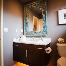 Eclectic Bathroom by Errez Design Inc.