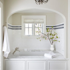 traditional bathroom by Molly Quinn Design