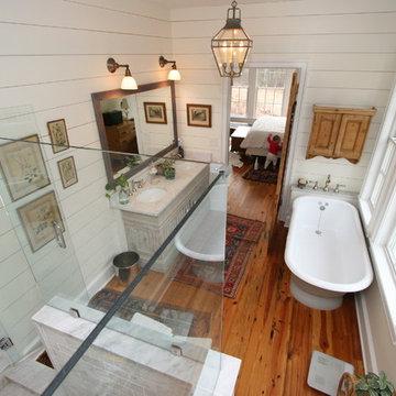(New) Traditional North Carolina Farmhouse