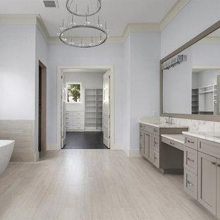 75 Most Popular Orlando Bathroom With Beige Cabinets Design Ideas