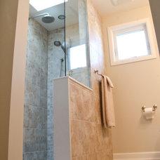 Transitional Bathroom by Susan Rea Interior Design