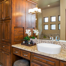 Transitional Bathroom by Dawn Hearn Interior Design