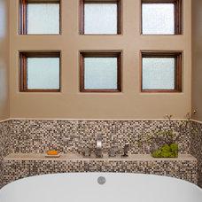 Transitional Bathroom by Dawn Hearn Interior Design