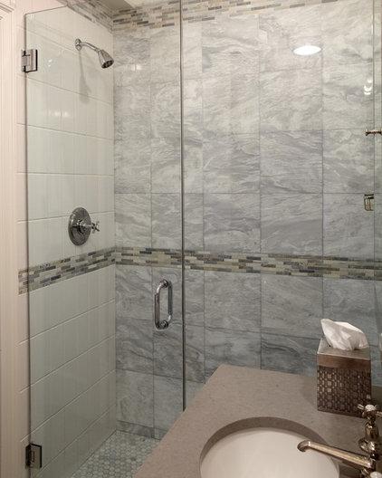 Contemporary Bathroom by Carolyn Rebuffel Designs