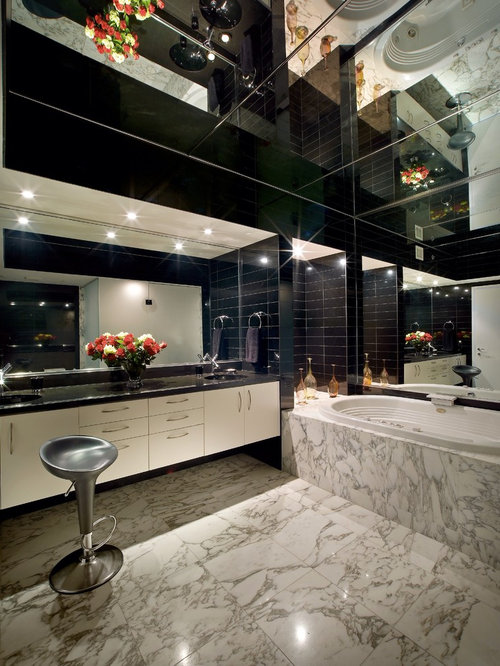 Mirror ceiling ideas pictures remodel and decor for Bathroom design jobs london