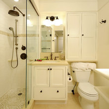 MORE Bathroom Counterspace, More Storage