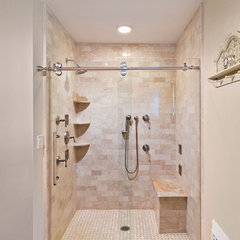 contemporary bathroom by New York Shower Door