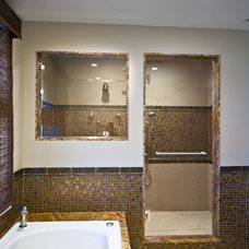 Modern Bathroom by New York Shower Door