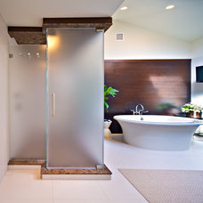 Bathroom by New York Shower Door
