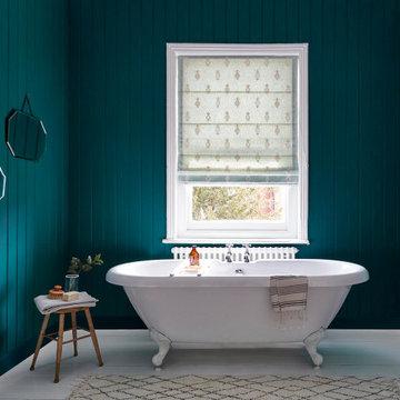 Newby Green Bathroom for Sanderson Paint
