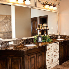 Traditional Bathroom by Huffman Construction