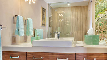 Newly-completed Boca Raton Contemporary Bathroom