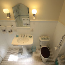 Eclectic Bathroom by Bennett Contracting, Inc.