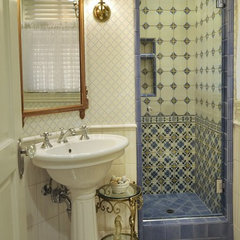 traditional bathroom by Denise Foley Design Inc