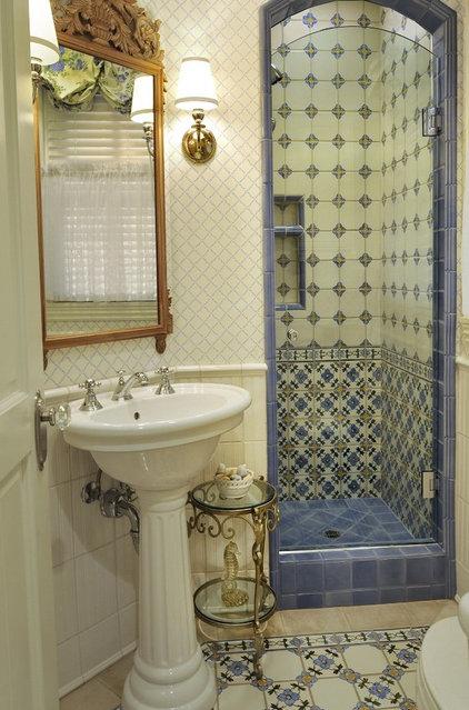 Traditional Bathroom by Denise Foley Design Inc