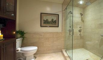 Newport Beach master bath spa