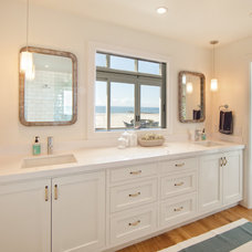 Beach Style Bathroom by William Guidero Planning and Design