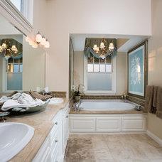 Beach Style Bathroom by JillThomson Design