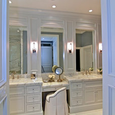 Traditional Bathroom by Prestige Mouldings & Construction, Inc.