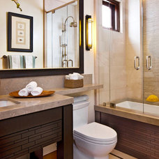 Contemporary Bathroom by Jeremy Harnish Designer Finishes