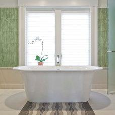 Contemporary Bathroom by Sage Builders LLC