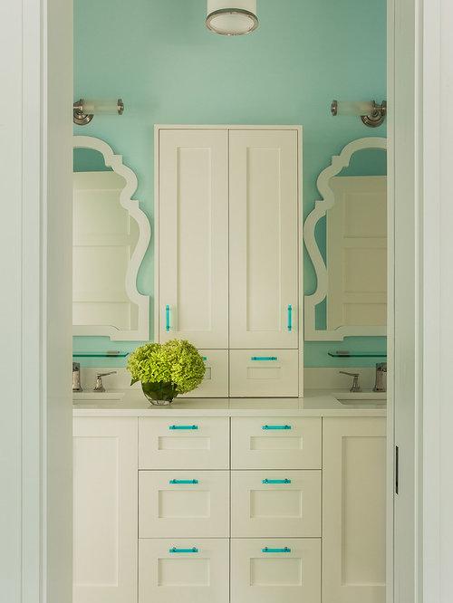 Blue And White Bathroom Design Ideas Remodel Pictures – Blue and White Bathroom