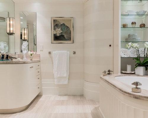 bathroom art deco style wohnideen & einrichtungsideen | houzz, Hause ideen