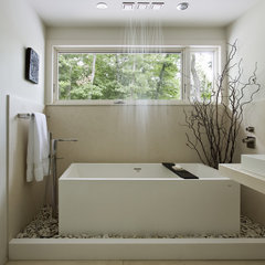 contemporary bathroom by Denali Construction