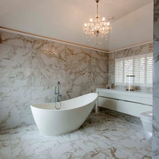 Contemporary Bathroom by Heaven & Stubbs Bespoke Furniture Ltd