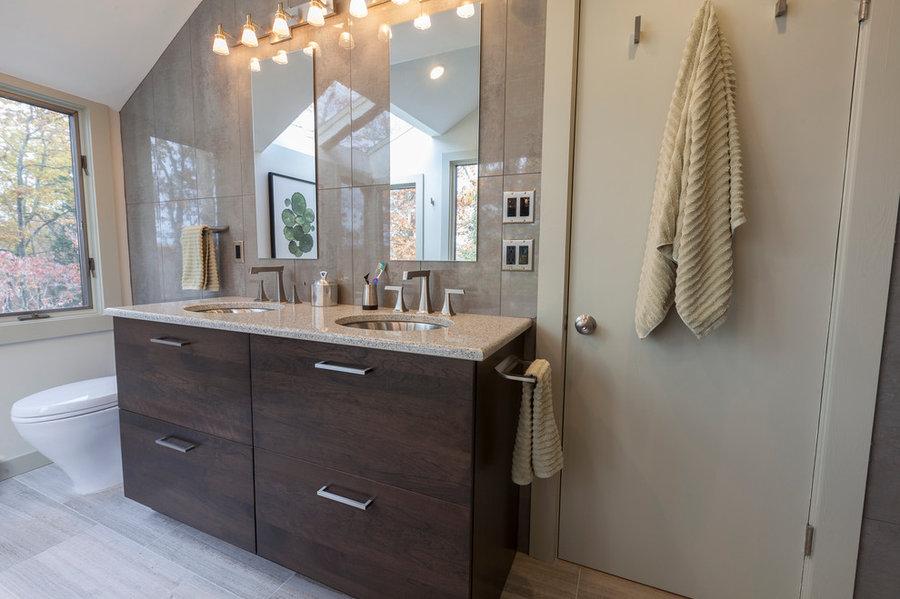 Newtown Modern Master Bath