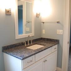 Traditional Bathroom by Cathy Stathopoulos, CKD