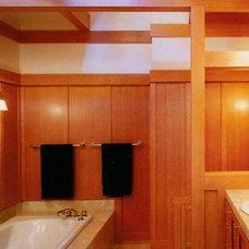 Traditional Bathroom by David Ludwig - Architect