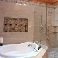 Contemporary Bathroom by NovaRae Interiors