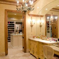 Mediterranean Bathroom by Christopher Lee & Company Fine Homes