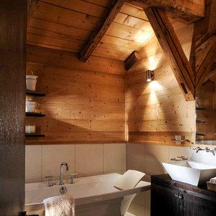 Rustic Bathroom In London