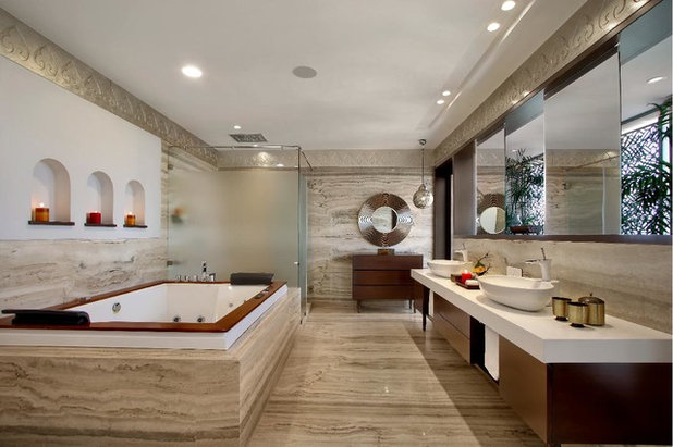 Contemporary Bathroom by Dipen Gada and Associates