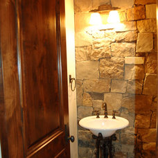 Craftsman Bathroom by Sopris Mountain Investments, Inc