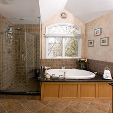 Traditional Bathroom by JMC Home Remodeling